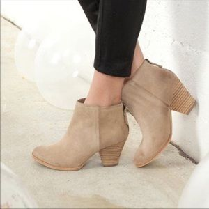 Splendid Roland Suede Leather Booties 10 M